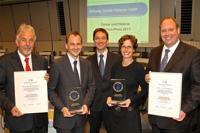 Verleihung des Oskar Medizin-Preis 2011