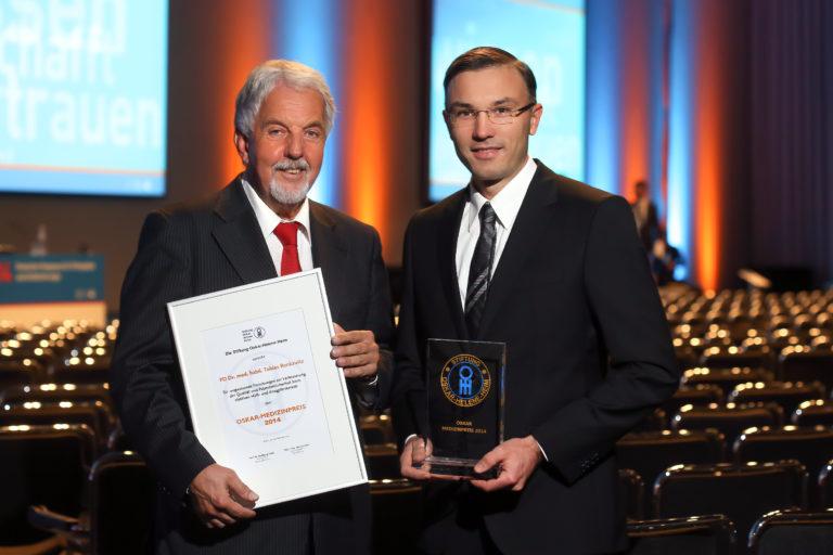 Verleihung des Oskar Medizin-Preis 2014