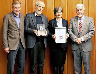 Verleihung der Helene-Medaille 2016