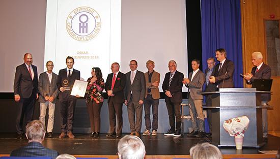 Verleihung des Oskar Medizin-Preis 2018