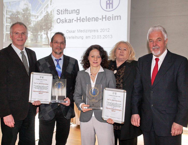 Verleihung des Oskar Medizin-Preis 2012